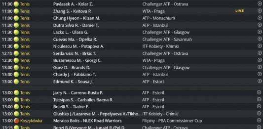 Gdzie za darmo oglądać tenis online?